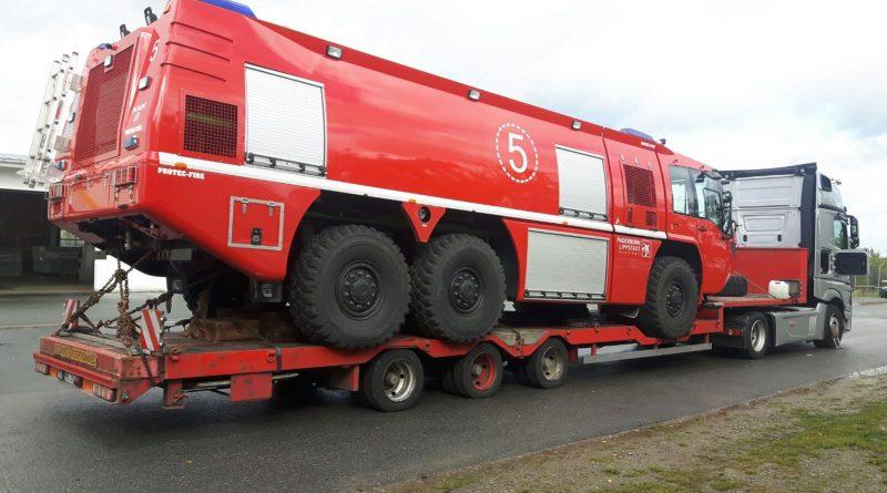 Transport Masina de Pompieri Germania Romania